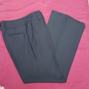 Banana Republic Black Classic Wool Blend Pant Sz 8